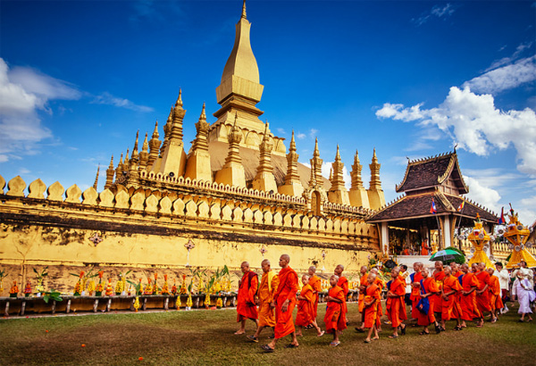 That Luang, Laos's pride | Laostours.us
