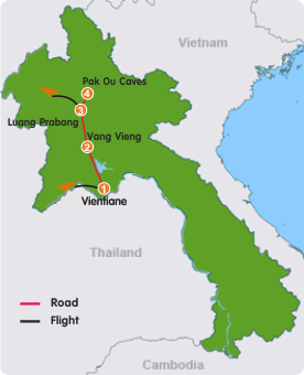Amazing Laos Tour–6 Days