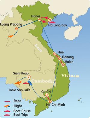 Indochina-Hightlights