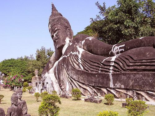 Xieng Khuan Buddha park Laos